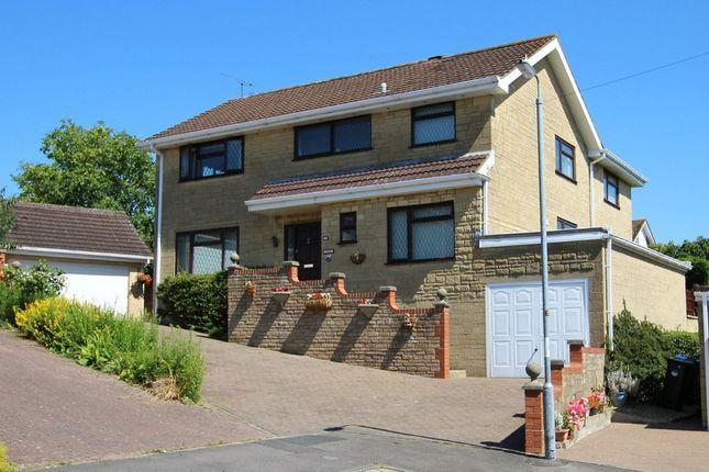 Thumbnail Detached house for sale in Montague Close, Chippenham