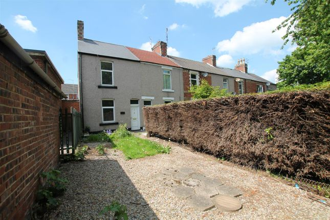 Thumbnail End terrace house for sale in Gordon Terrace, Bishop Auckland
