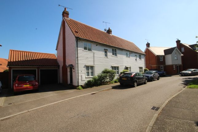 Thumbnail Semi-detached house for sale in Hazel Close, Noak Bridge