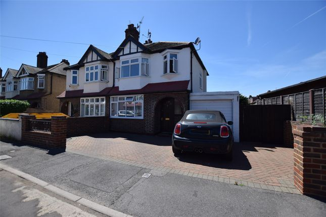 Thumbnail Semi-detached house for sale in Meadow Walk, Wallington, Surrey