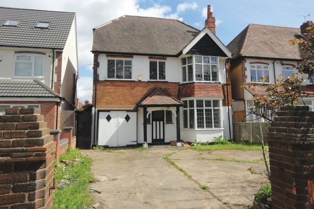 Thumbnail Detached house for sale in Stratford Road, Hall Green, Birmingham, West Midlands