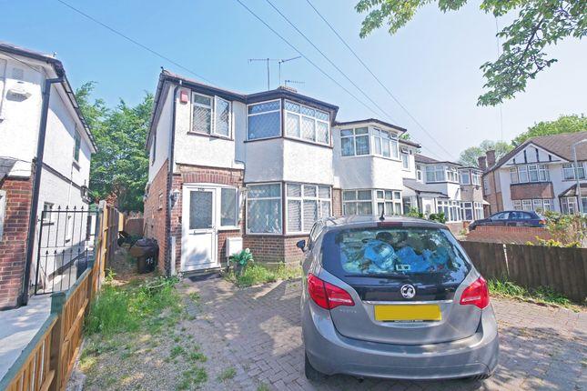Thumbnail Semi-detached house to rent in Drayton Gardens, West Drayton