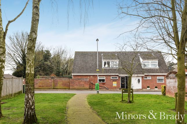 Thumbnail Semi-detached house for sale in Hammond Close, Norwich