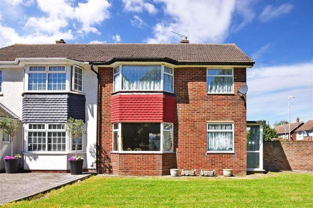 Thumbnail Semi-detached house for sale in Leander Drive, Gravesend, Kent