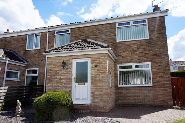 Thumbnail Semi-detached house for sale in Dinting Close, Peterlee