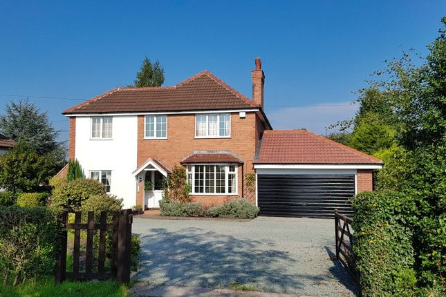 Thumbnail Detached house to rent in Colleys Lane, Willaston, Nantwich