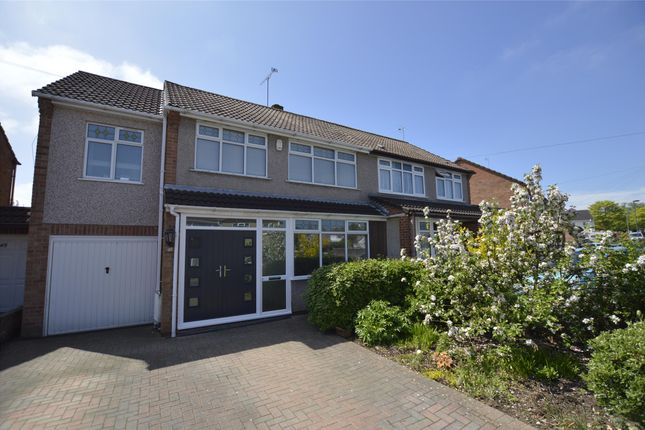 Thumbnail Semi-detached house for sale in Huckford Road, Winterbourne, Bristol