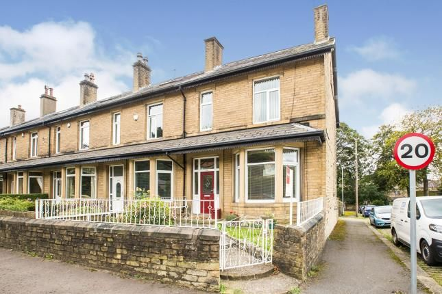 Thumbnail End terrace house for sale in Burnley Road, Halifax, West Yorkshire