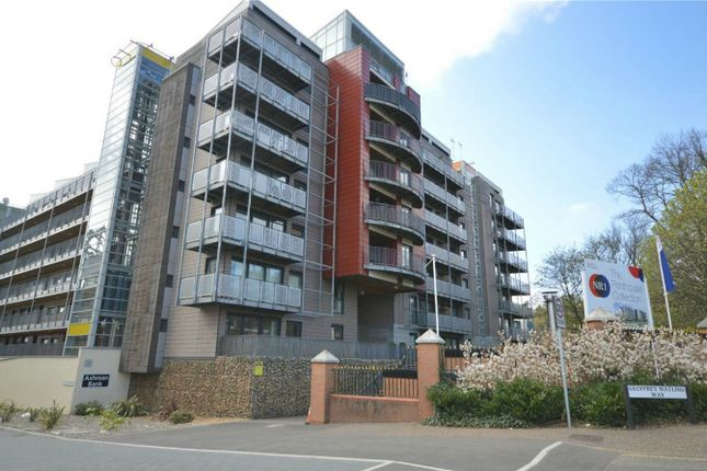 Thumbnail Flat for sale in Ashman Bank, Geoffrey Watling Way, Riverside, Norwich, Norfolk