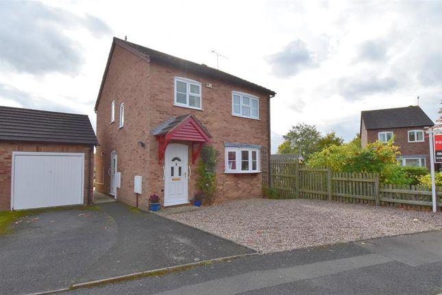 Thumbnail Detached house for sale in Wharfedale Crescent, Droitwich