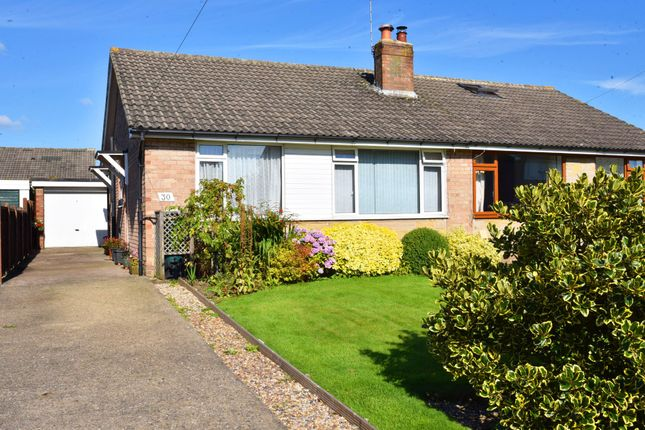 Thumbnail Semi-detached bungalow for sale in Larkfield Road, Harrogate