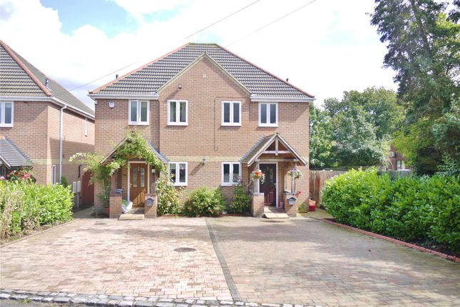 Thumbnail Semi-detached house for sale in The Hillway, Mountnessing, Brentwood, Essex