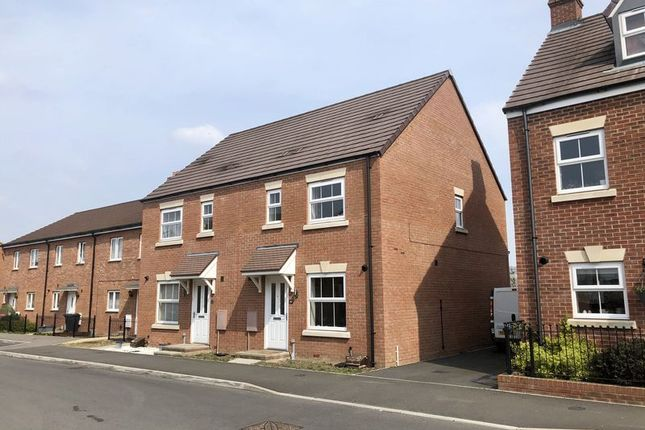 Thumbnail Semi-detached house to rent in Boulmer Avenue Kingsway, Quedgeley, Gloucester