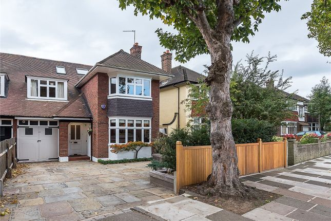 Thumbnail Semi-detached house for sale in Vicarage Road, East Sheen