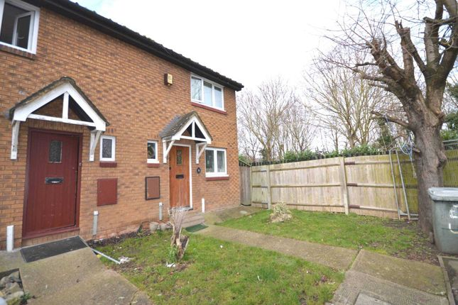 Thumbnail End terrace house for sale in Exeter Close, London