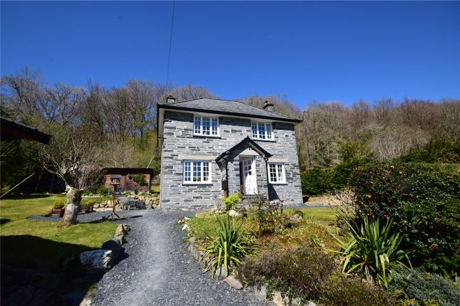 Thumbnail Detached house for sale in Pantperthog, Machynlleth, Powys