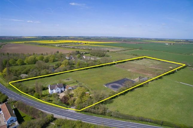 Thumbnail Equestrian property for sale in Market Rasen Road, Dunholme