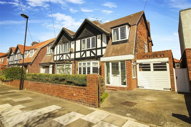 Thumbnail Semi-detached house for sale in Briardene Crescent, Whitley Bay, Tyne And Wear