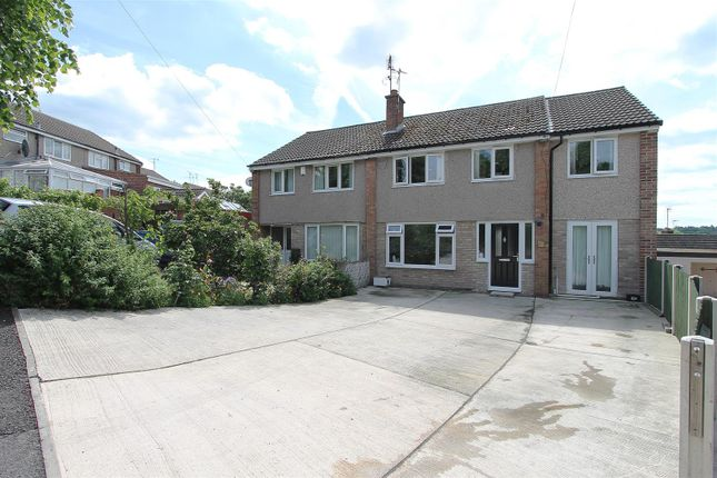 Thumbnail Semi-detached house for sale in Holmebank West, Brockwell, Chesterfield