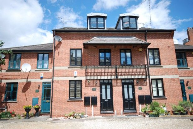 Thumbnail Town house for sale in 3 Portland Place West Leamington Spa, Leamington Spa