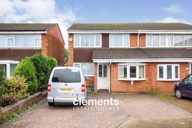 Thumbnail Semi-detached house for sale in Codicote Row, Hemel Hempstead