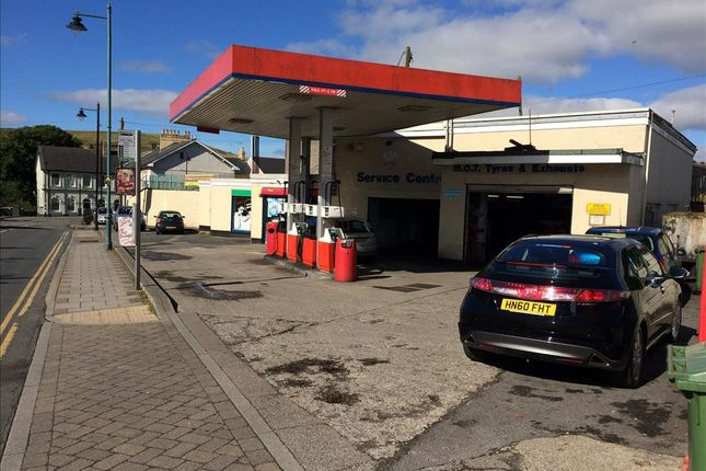 Thumbnail Commercial property for sale in Petrol & Mot Station, Shop And Cafe NP22, Rhymney, Gwent