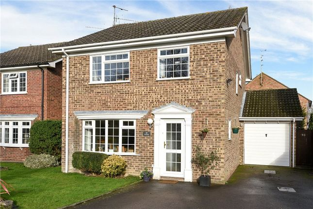 Thumbnail Detached house for sale in Hilfield, Yateley, Hampshire