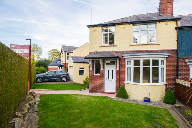 Thumbnail Semi-detached house for sale in Bingham Park Road, Greystones, Sheffield