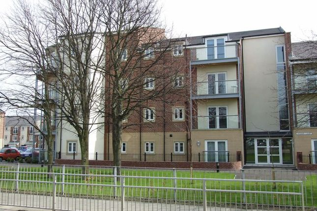 Thumbnail Flat to rent in Wharry Court, Manor Park, High Heaton, Newcastle Upon Tyne