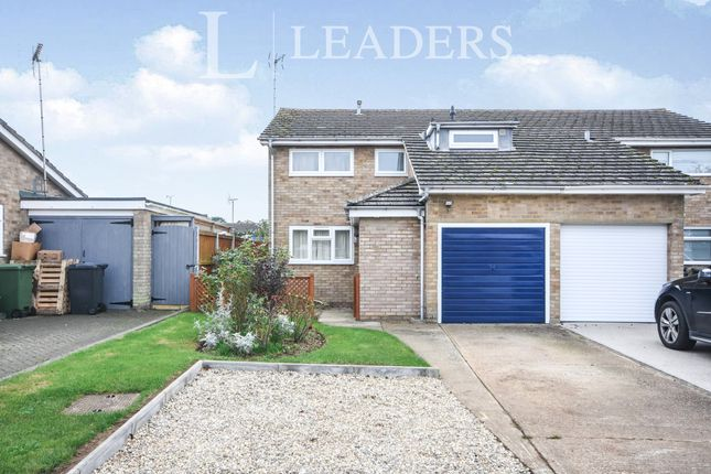 Thumbnail End terrace house to rent in Hunt Close, Feering, Colchester