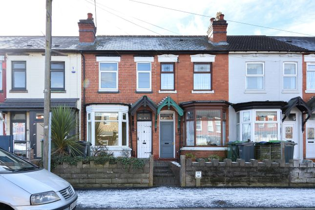 Thumbnail Terraced house for sale in Edward Road, Smethwick