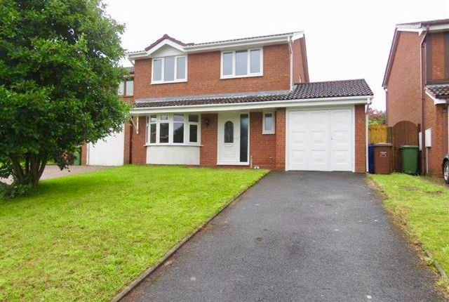 Thumbnail 4 bedroom detached house to rent in Gloucester Way, Heath Hayes, Cannock