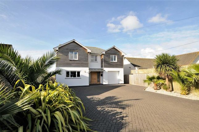 Thumbnail Detached house for sale in Poughill, Bude, Cornwall