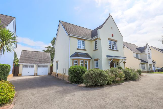 Thumbnail Detached house for sale in Larkfield Grove, Chepstow