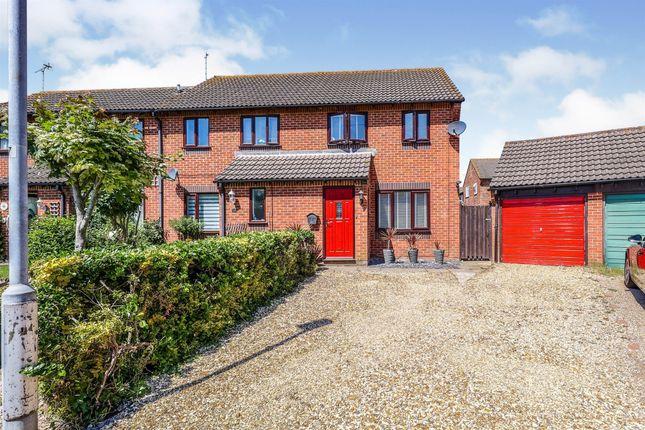 Thumbnail Semi-detached house for sale in Brampton Lane, Portsmouth