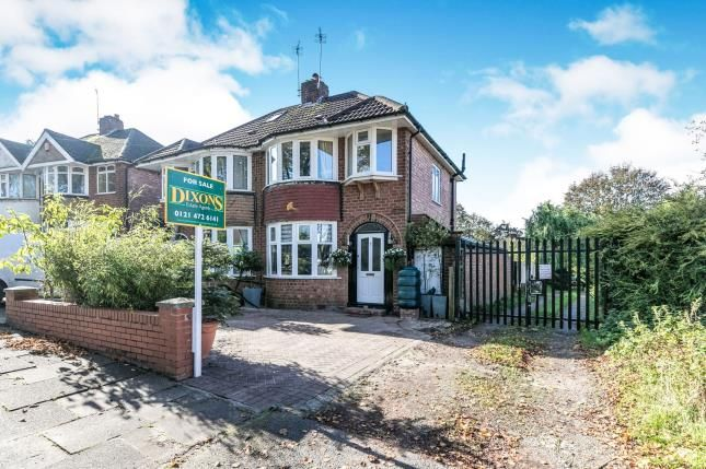 Thumbnail 3 bed semi-detached house for sale in Falconhurst Road, Selly Oak, Birmingham, West Midlands