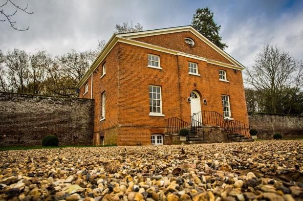 Thumbnail Detached house to rent in The Garden House, Woodhall Park, Watton At Stone