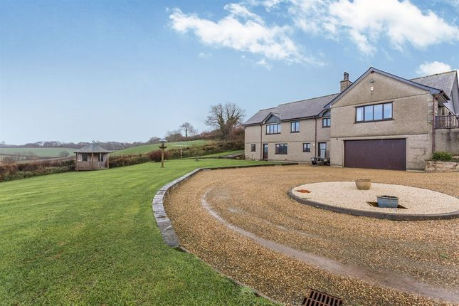 5 bedroom detached house for sale in Dolcoath, Pillaton, Saltash