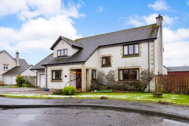 Thumbnail Detached house for sale in Macrosty Gardens, Crieff