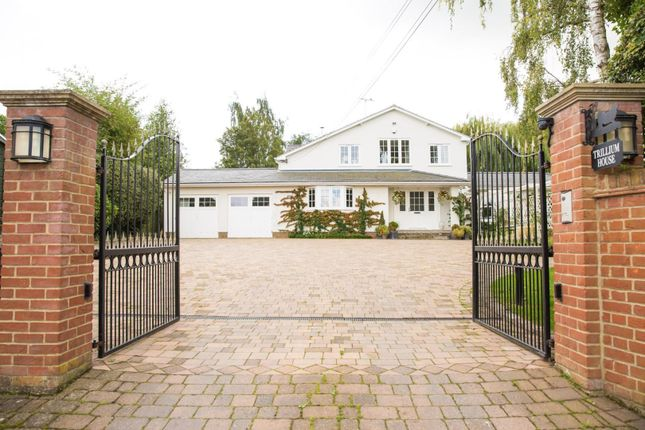 Thumbnail Detached house for sale in Days Lane, Pilgrims Hatch, Brentwood