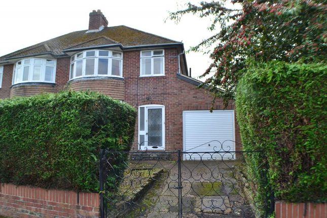 Thumbnail Semi-detached house for sale in Priory Road, Newbury