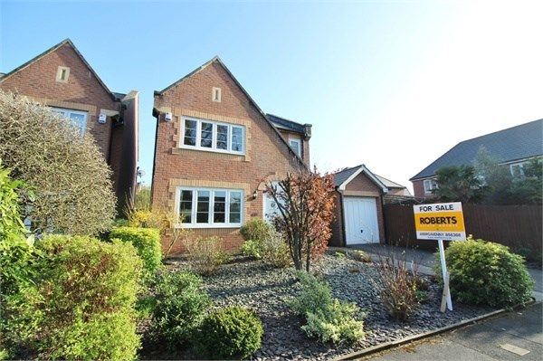 Thumbnail Detached house for sale in Chestnut Drive, Abergavenny