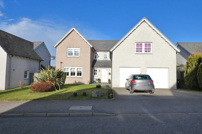 Thumbnail Detached house for sale in Kinnairdy Close, Torphins, Aberdeenshire