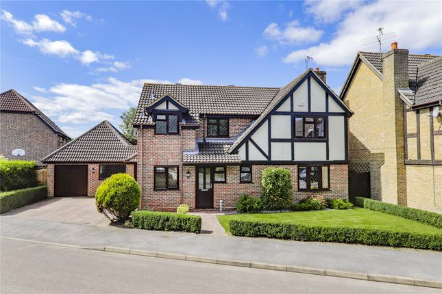 Thumbnail Detached house for sale in Munnings Drive, College Town, Sandhurst, Berkshire