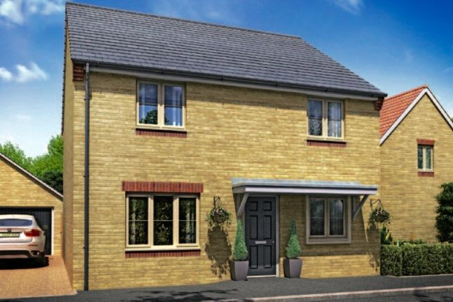 Thumbnail Detached house for sale in Whitecross, Coates Road, Eastrea, Whittlesey, Peterborough
