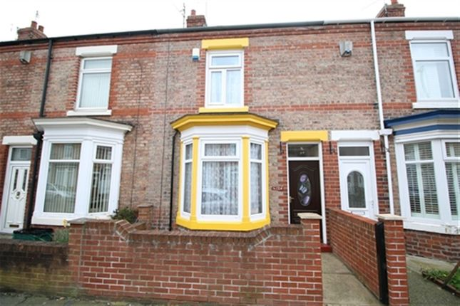 Thumbnail Terraced house to rent in Eastbourne Road, Darlington, County Durham