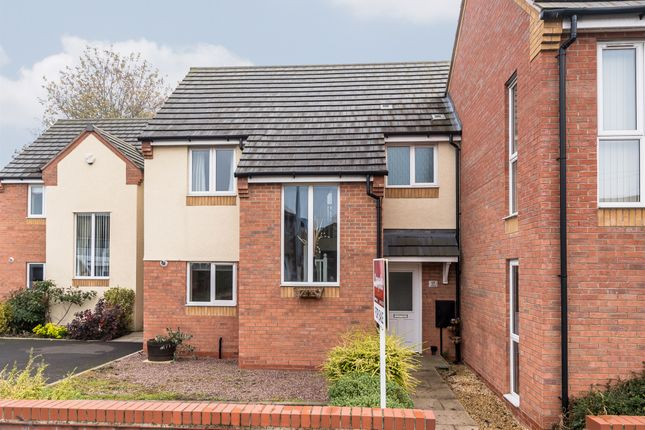 Thumbnail Town house for sale in Lichfield Road, Armitage, Rugeley