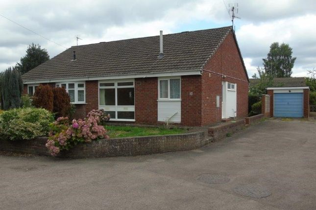 Thumbnail Semi-detached bungalow for sale in Wonastow Close, Monmouth