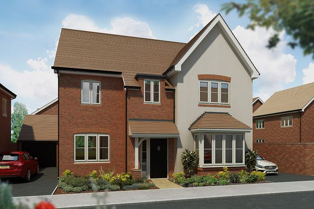 """Thumbnail 5 bed detached house for sale in """"The Birch"""" at Haughton Road, Shifnal"""