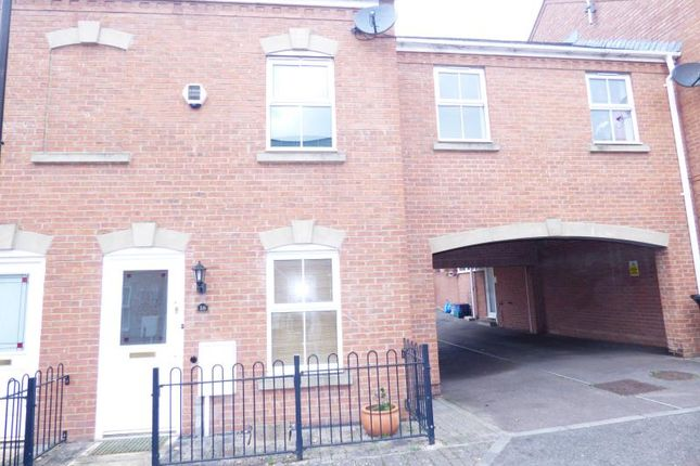 Thumbnail Terraced house to rent in Chillingworth Mews, Gloucester